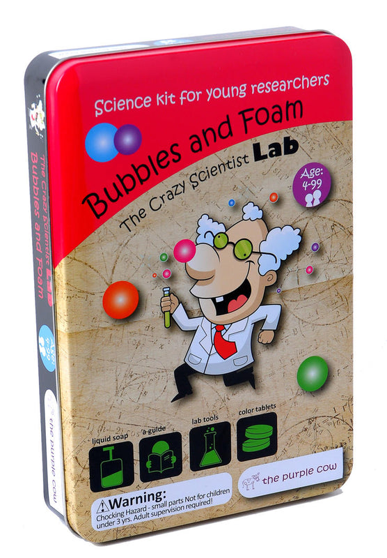 The Purple Cow: Bubbles and Foam Lab - KidsnToys.co.nz