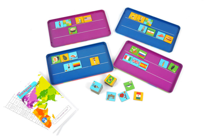 The Purple Cow: World Rummy - KidsnToysNZ