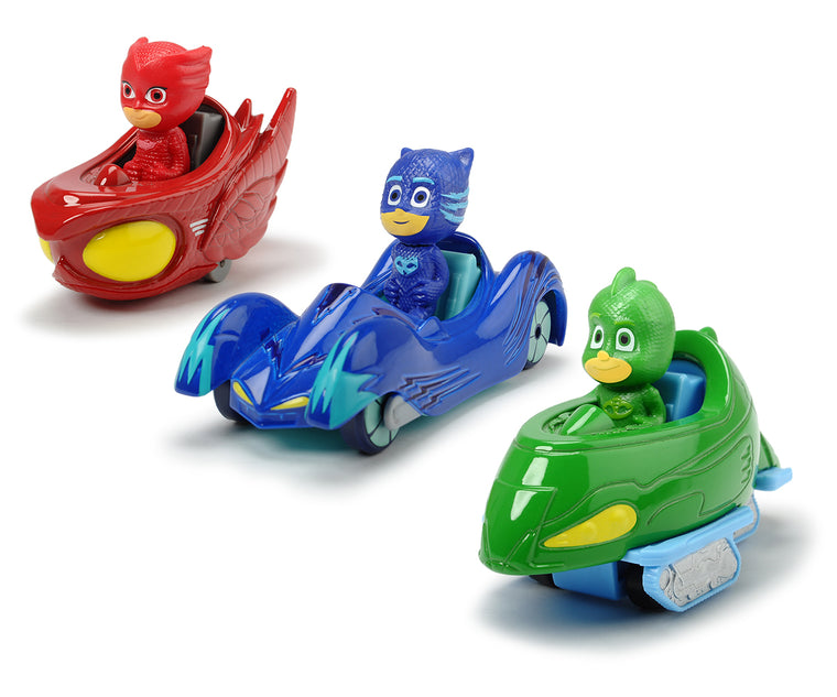 PJ Masks 3 pack vehicles