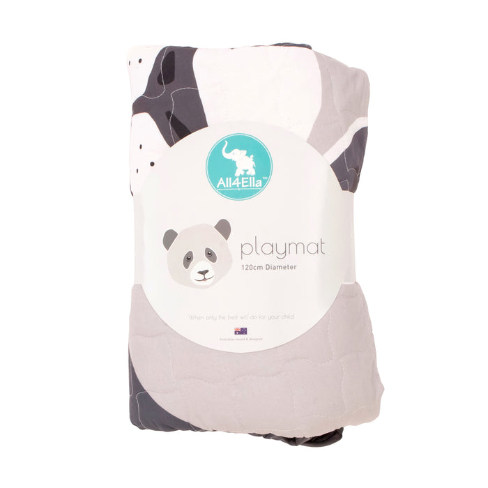 All4Ella: Massive Panda Play Mat - 120cm in diameter - KidsnToys.co.nz