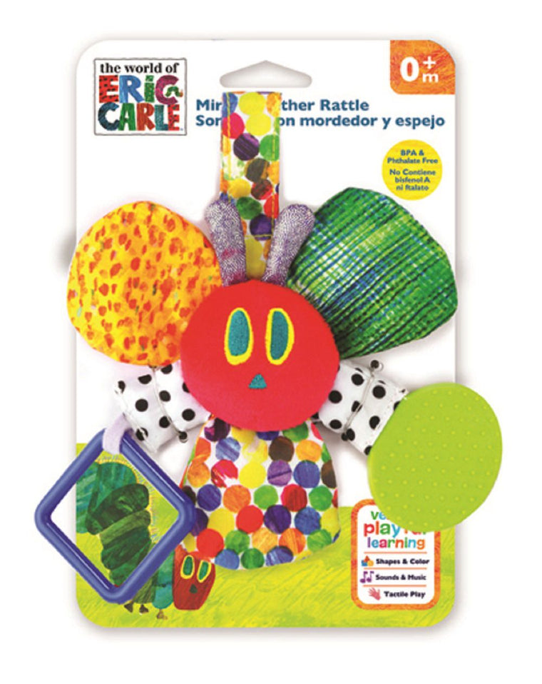 The Very Hungry Caterpillar: Rattle Mirror Teether (Assorted)