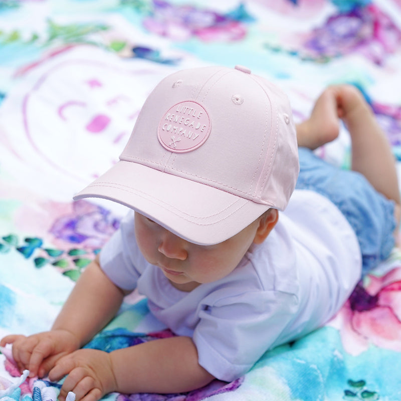 Little Renegade Company: Rose Baseball Cap - KidsnToys.co.nz