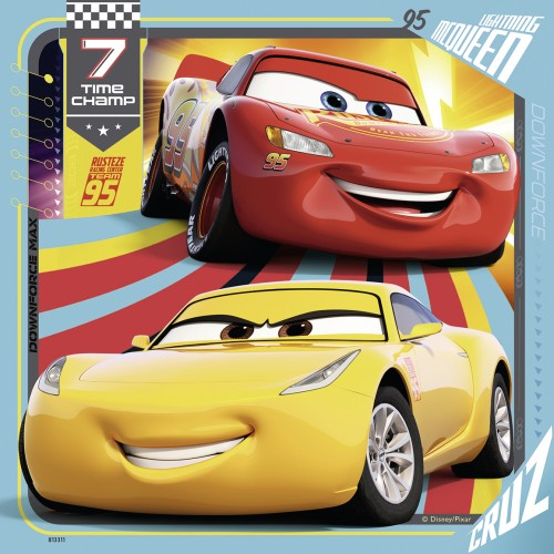 Ravensburger: Disney Cars 3 Collection 3x49 Pieces (6065288511688)