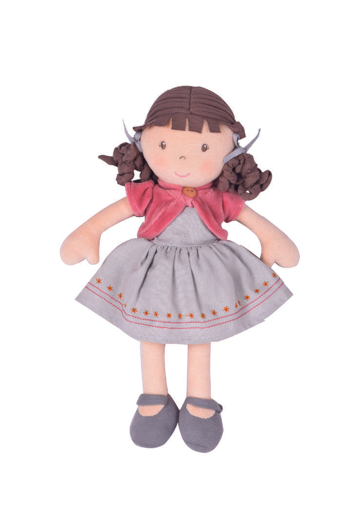 Bonikka: Rose Doll 32cm Organic (GOTS) - KidsnToys.co.nz
