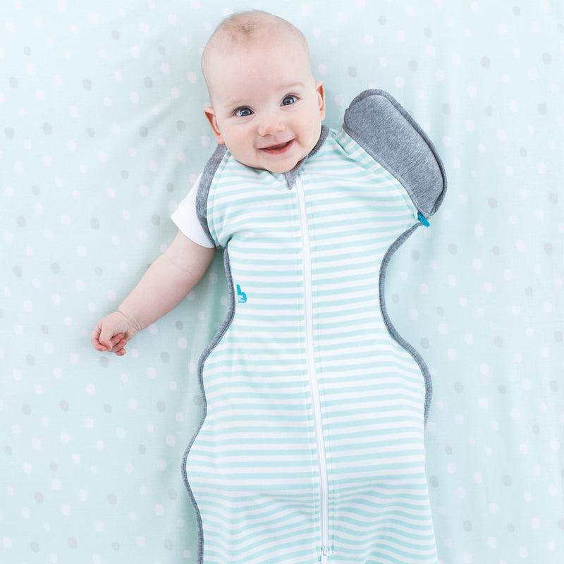Love to Dream Swaddle Up Transition Sleeping Bag - Mint  1.0 TOG - KidsnToys.co.nz