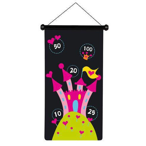 Scratch Darts - Princess magnetic 70x36cm 2-sided printing