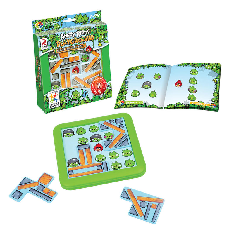 Smart Games: Angry Birds Under Construction - KidsnToys.co.nz
