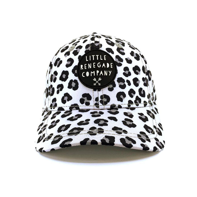 Little Renegade Company: Snow Leopard Baseball Cap