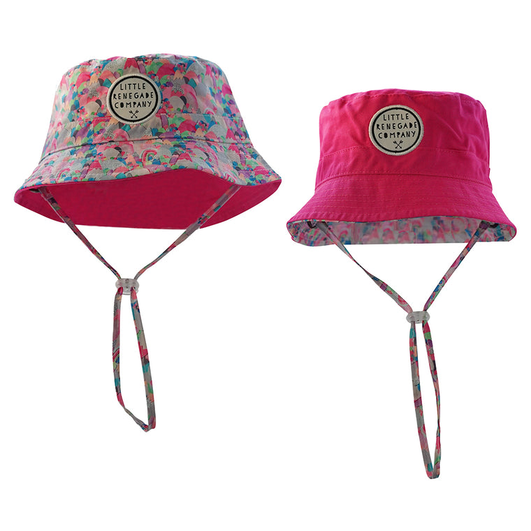 Little Renegade Company: Sugar Mountains Reversible Bucket Hat