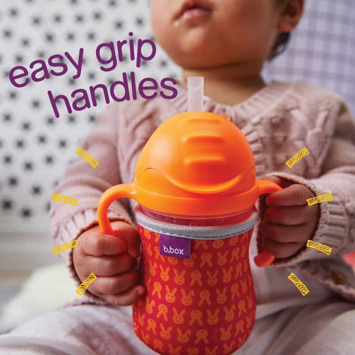 B.Box Sippy Cup - Neon Pink
