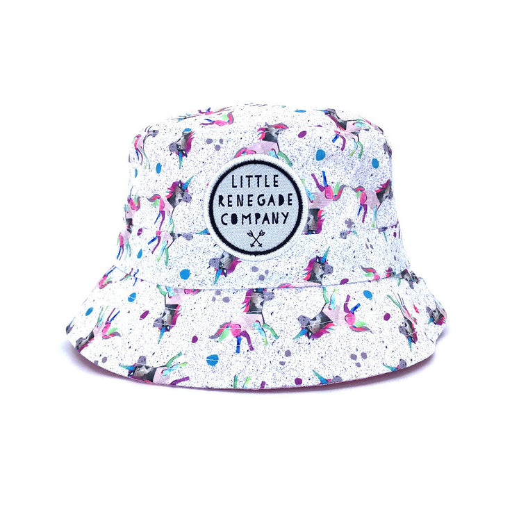 Little Renegade Company: Sparkles Reversible Bucket Hat