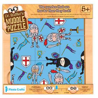 Fiesta Crafts: Dr Bafflers Muddle Puzzle - Knight