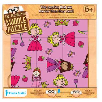 Fiesta Craft: Dr Bafflers Muddle Puzzle Princess 9 PIECE