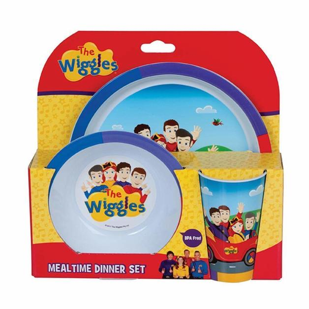 The Wiggles: 3-Piece Dinner Set (4818917425223)