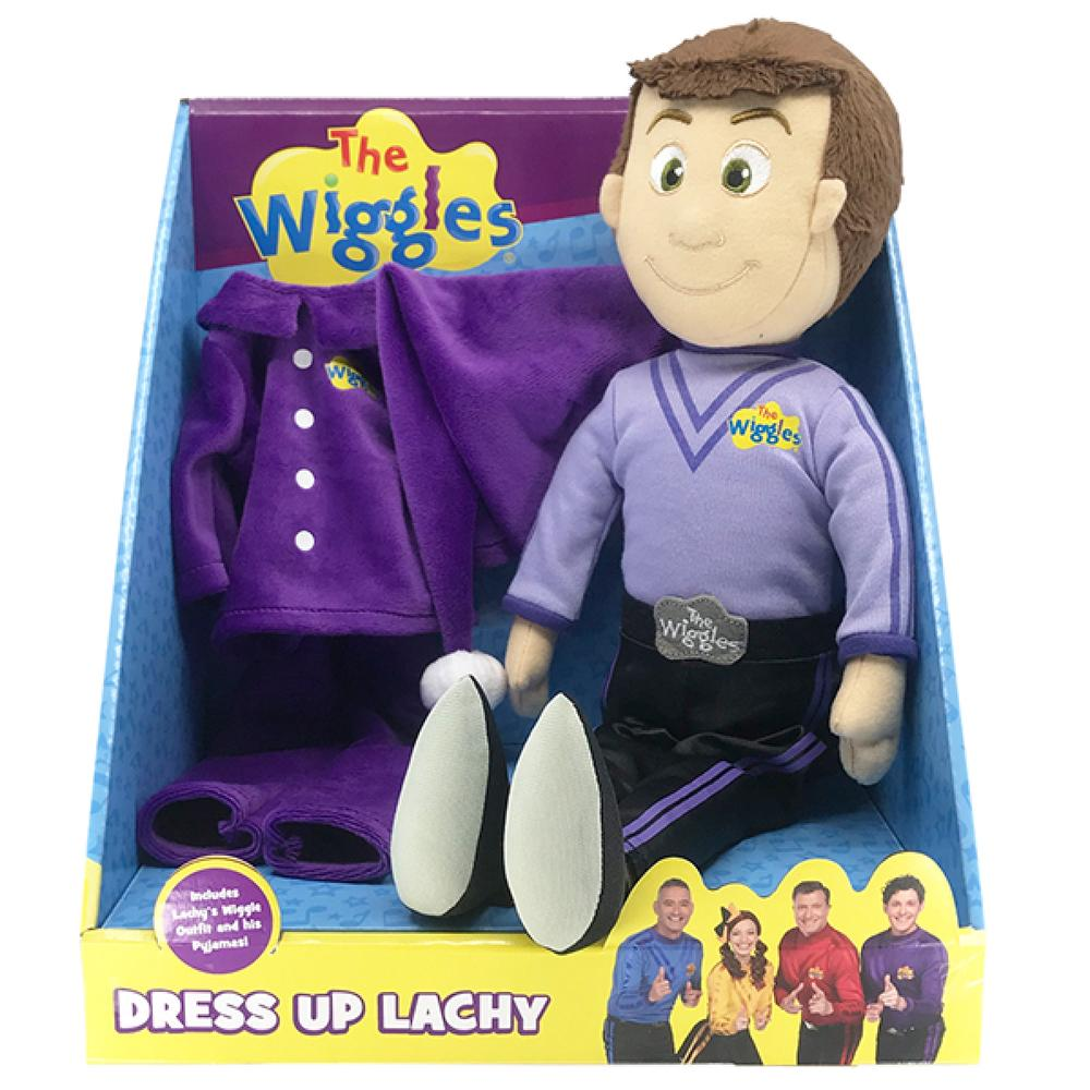 The Wiggles: Dress Up Lachy Plush Toy 40CM