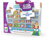 The Learning Journey -  Create a Scene Castle Jumbo Floor Puzzle