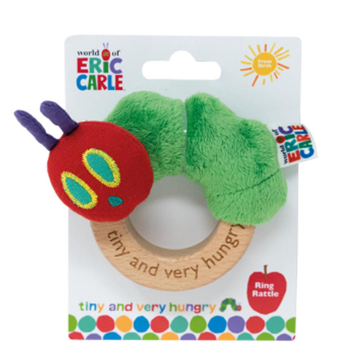 The Very Hungry Caterpillar Ring Rattle