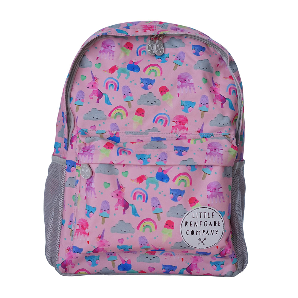 Little Renegade Company: Unicorn Friends Backpack - Midi Size - KidsnToys.co.nz