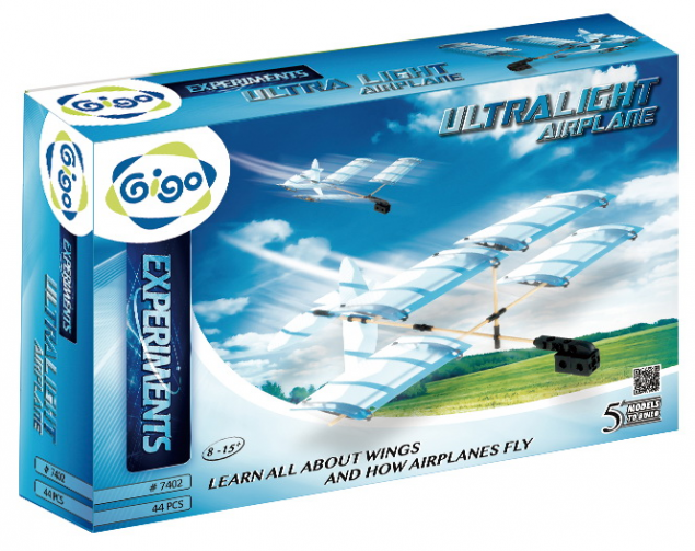 Gigo: Ultra Light Airplane 44pc Construction Set