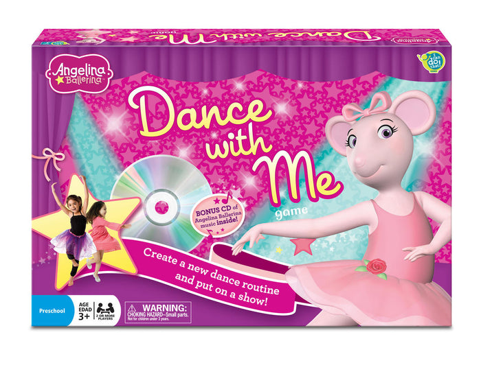 Angelina Ballerina Dance with Me Game - KidsnToys.co.nz