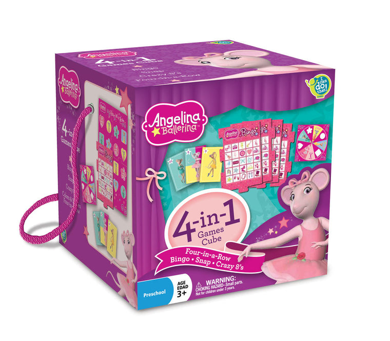 Angelina Ballerina: Travel Cube (4 Games), Angelina Ballerina