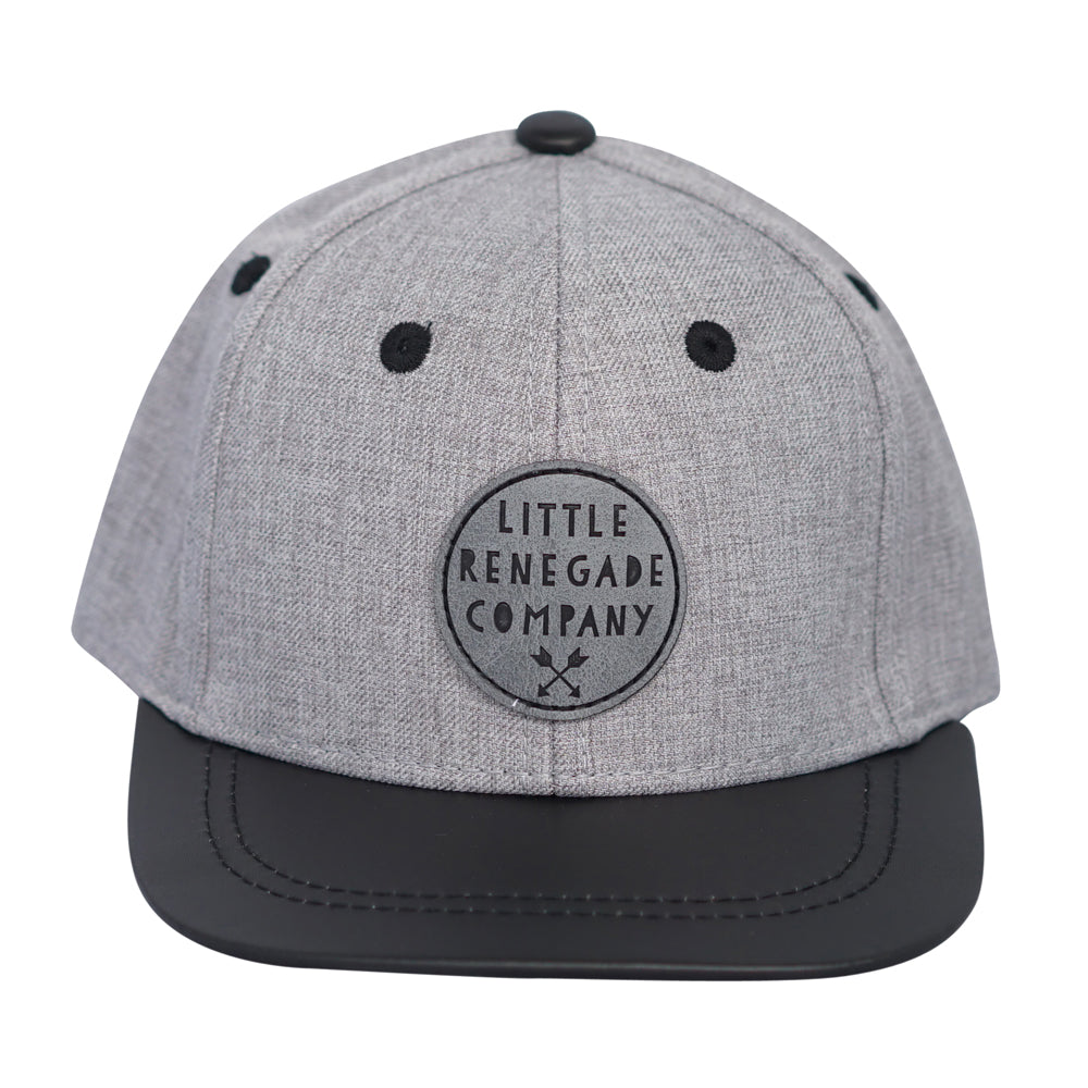 Little Renegade Company: Wolf Grey Snap Back Cap - KidsnToys.co.nz