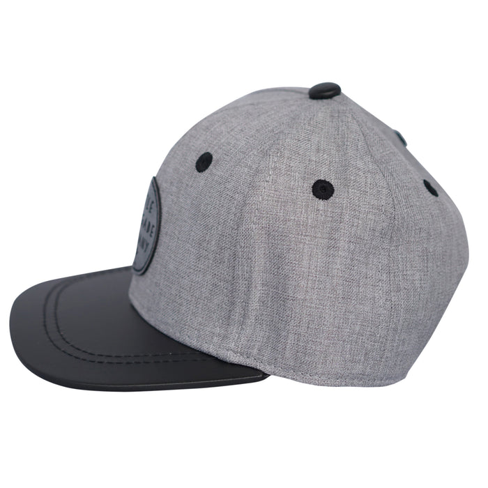 Little Renegade Company: Wolf Grey Snap Back Cap - KidsnToys.co.nz (4648495775815)