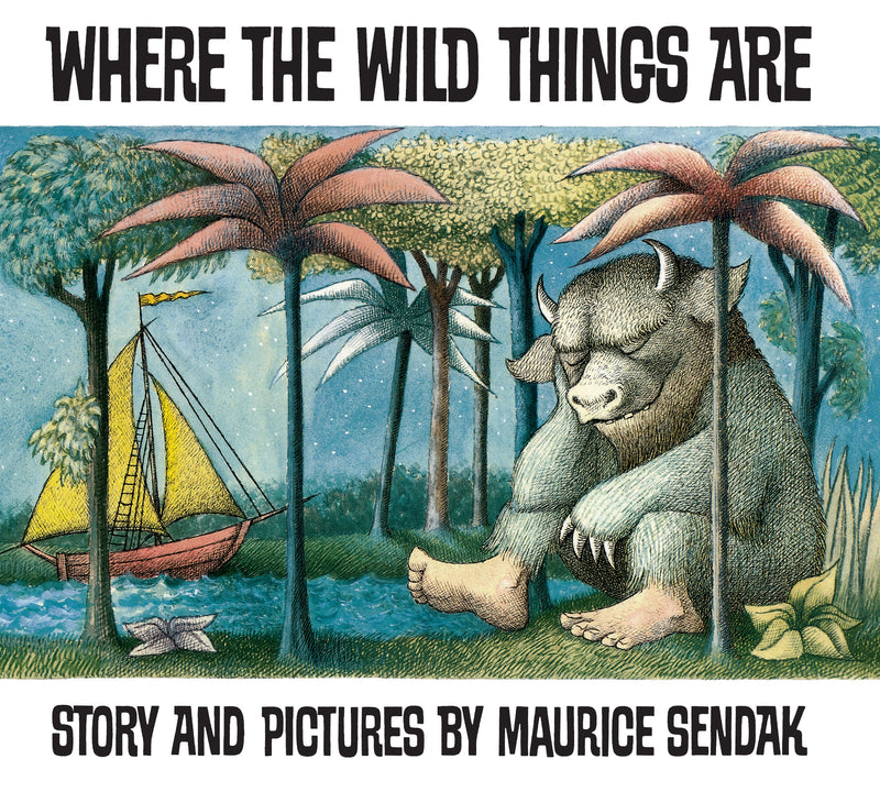 Where The Wild Things Are - Picture Book (6086585909448)
