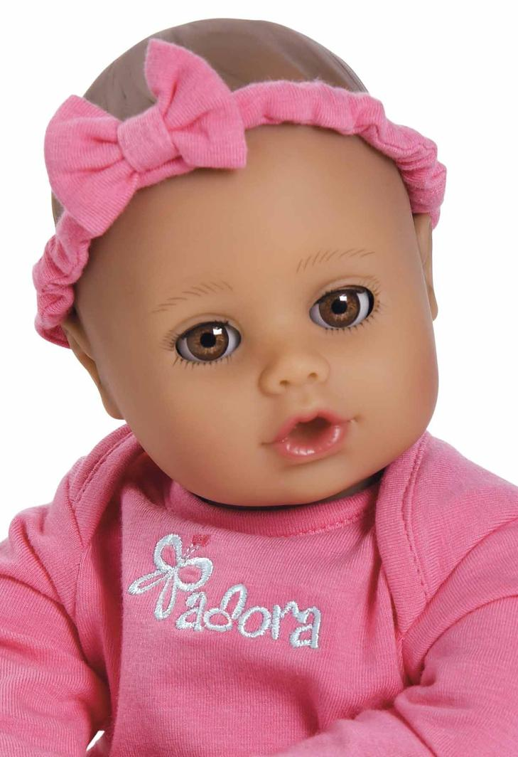 Playtime Baby Doll - Baby Pink 33cm
