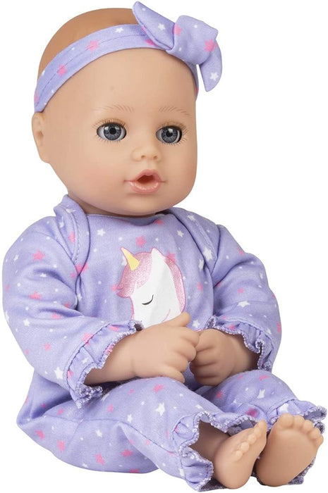 Playtime Baby Doll - Unicorn Glitter 33cm