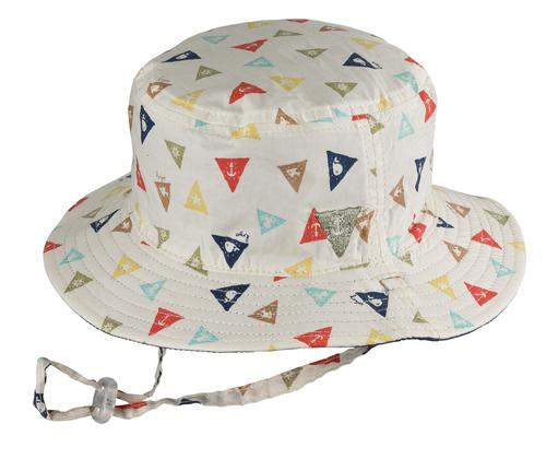 Dozer: Baby Boys Bucket Hat - Ahoy