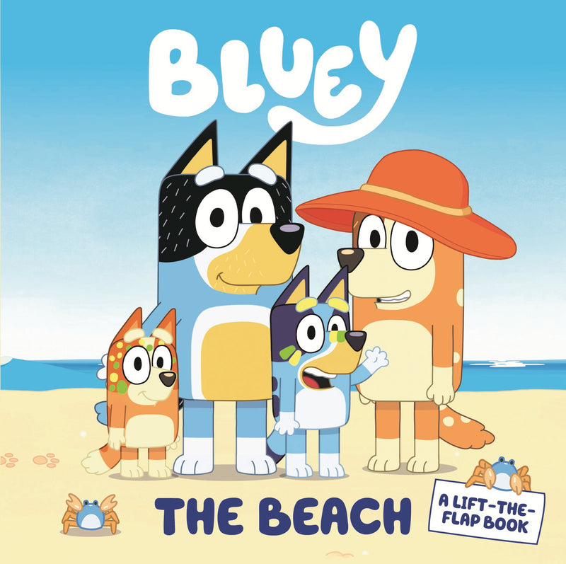 Bluey: The Beach - A Lift the Flap Picture Book (6086553403592)