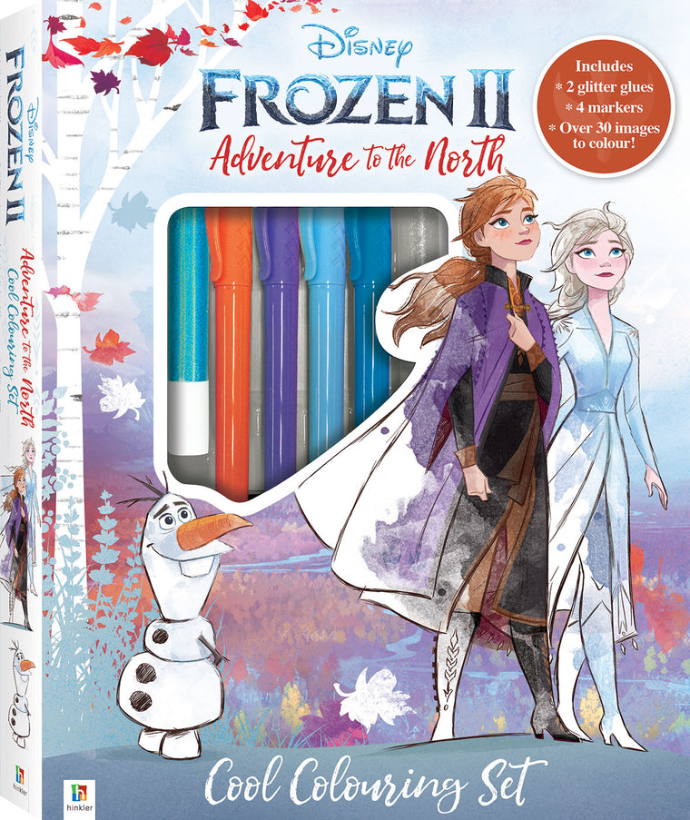 Kaleidoscope Colouring Kit: Frozen 2 Adventure to the North