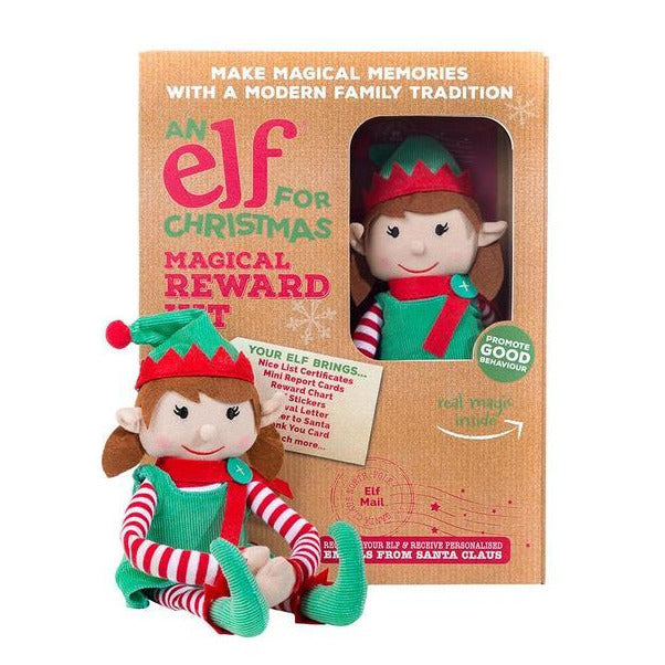 Christmas Elf & Magical Reward Kit- Girl