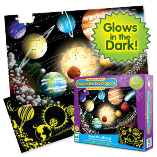 The Learning Journey - Puzzle Double Glow in the Dark - Space