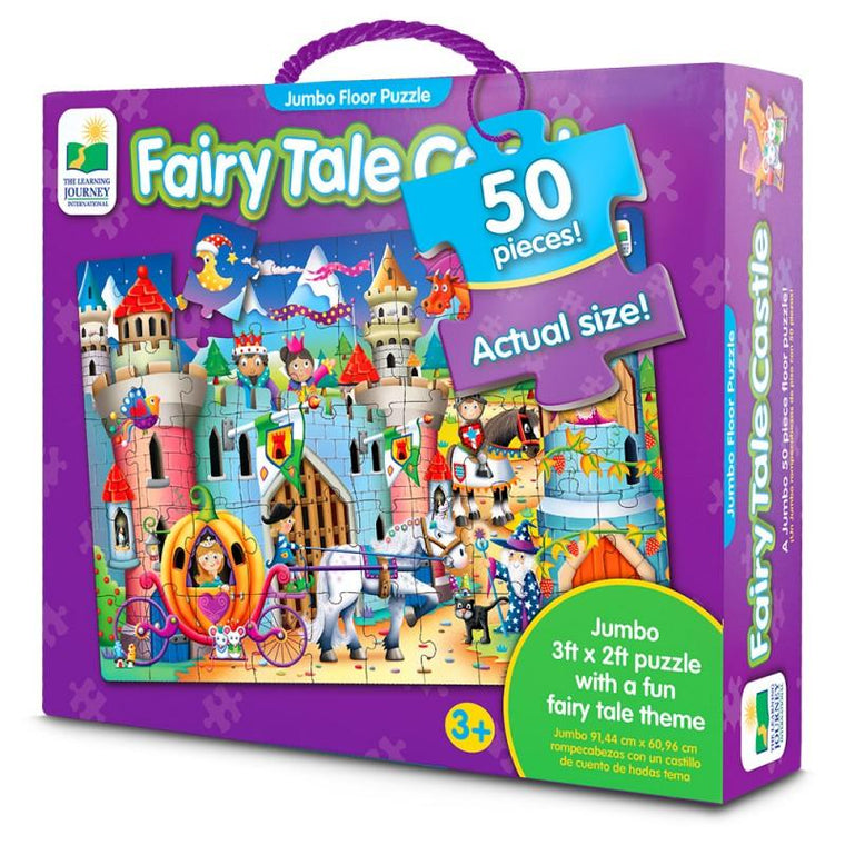 The Learning Journey - Fairy Tale Castle Puzzle