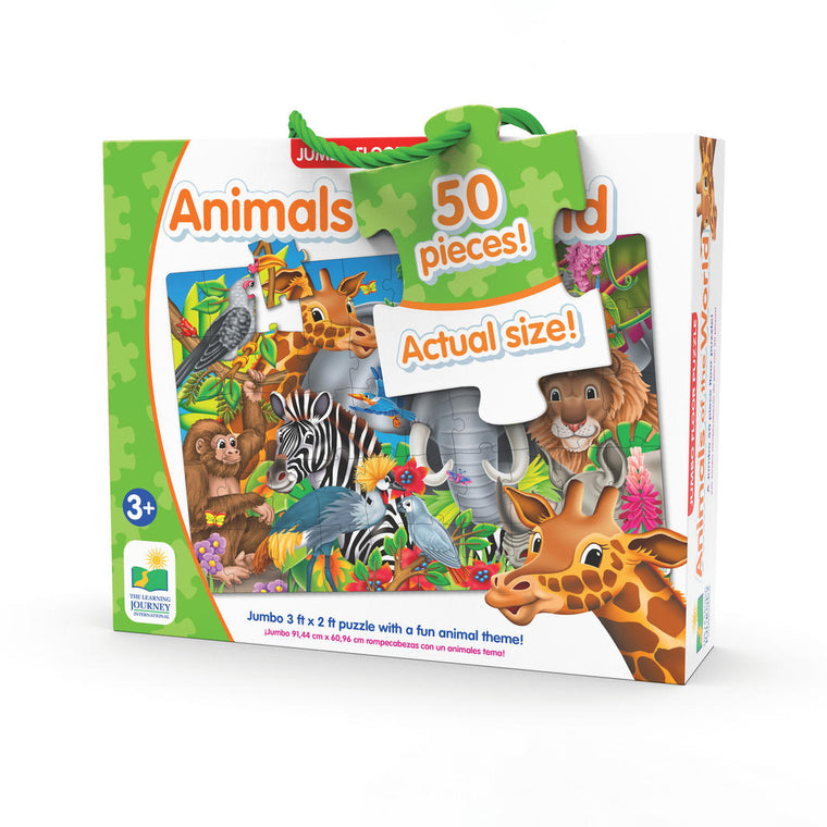 The Learning Journey - Animals of the World Jumbo Floor Puzzle