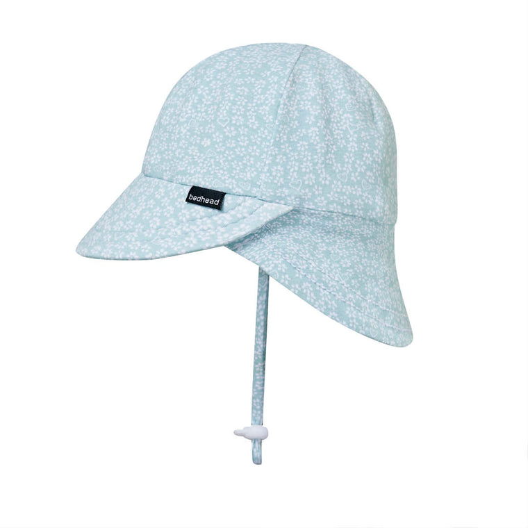 Bedhead Hats: Legionnaire Flap Hat 'Willow' Print