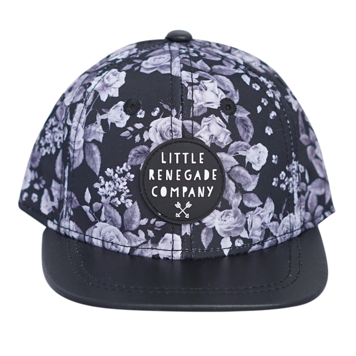 Little Renegade Company: Midnight Blossom Snap Back Cap - KidsnToys.co.nz