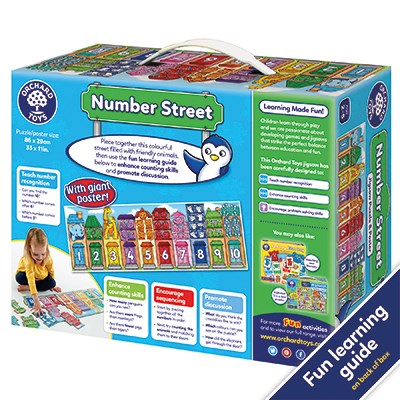 Orchard Toys Number Street (6056056094920)
