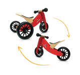 Kinderfeets: 2-in-1 Tiny Tot Tricycle & Balance Bike - Coral (4823346839623)