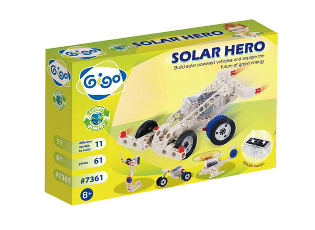 Gigo: Solar Hero 61pc Construction Set
