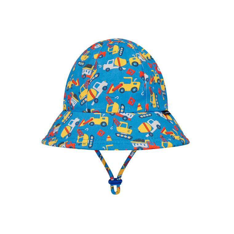 Bedhead Hats: Boys Toddler Bucket Hat - Construction