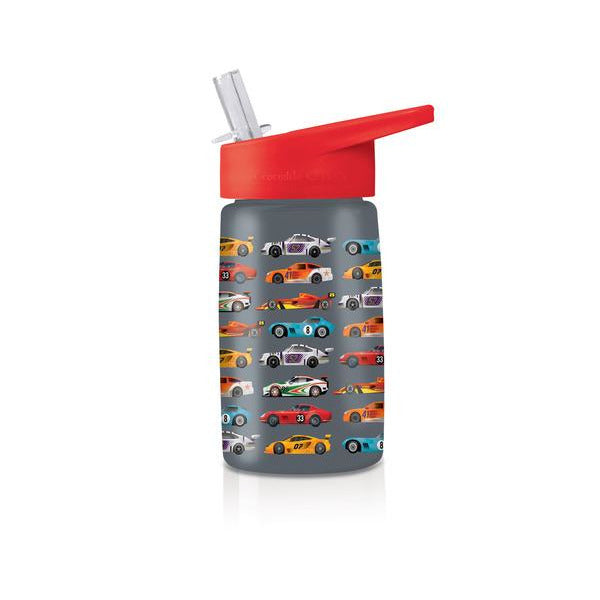Crocodile Creek Tritan 450ml Drink Bottle - Race Car (6049239171272)