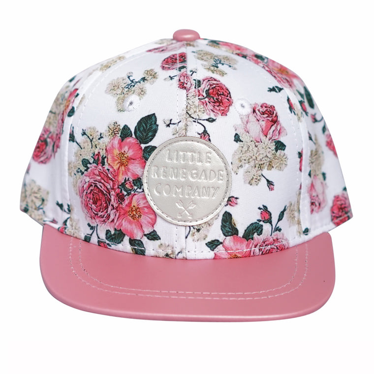 Little Renegade Company: Vintage Floral Snap Back Cap
