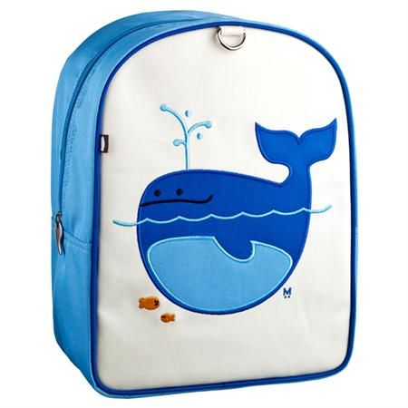 Beatrix NY: Little Backpack- Lucas Whale