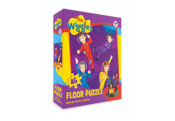 The Wiggles 46pc Floor Puzzle - KidsnToys.co.nz