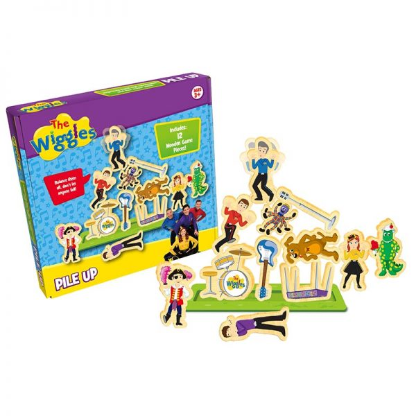 The Wiggles: Pile Up Game (4805897945159)