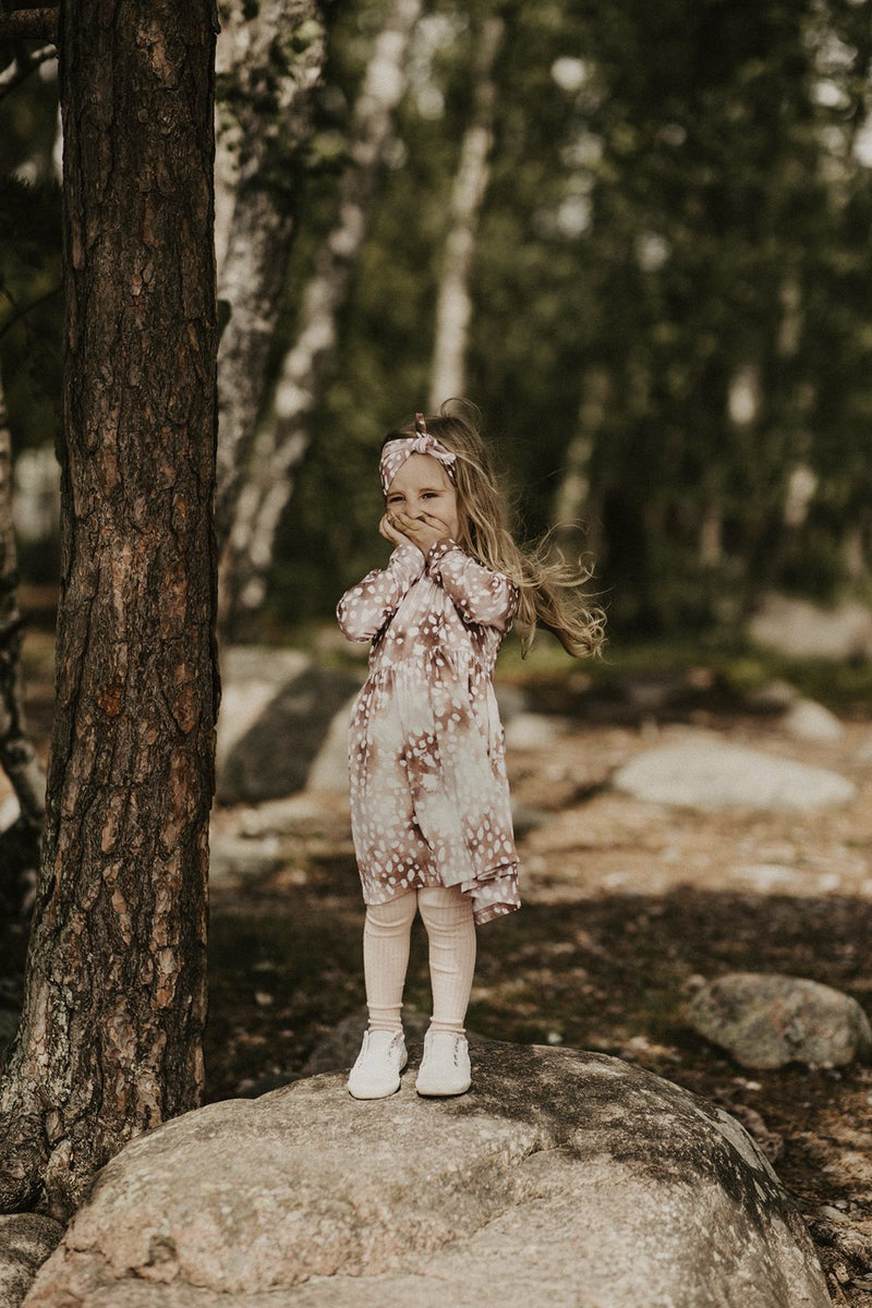 Copper Bambi Dress Ls