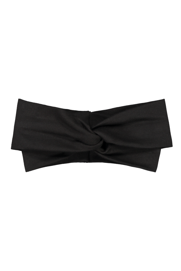 Knot Headband, Black